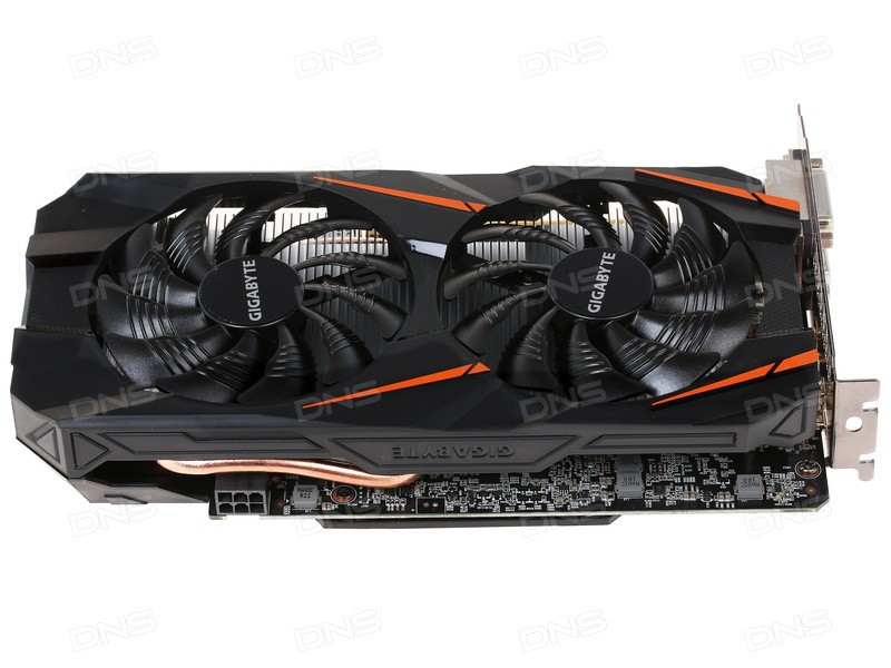 GV-N1060WF2-6GD Видеокарта Gigabyte GTX 1060 Windforce 6Gb , GV-N1060WF2-6GD