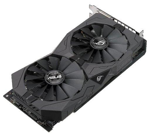 ROG-STRIX-RX570-O4G-GAMING Видеокарта Видекарта ASUS ROG-STRIX-RX570-O4G-GAMING AMD RX570 4096Mb 256b 1280/7000 DVIx2/HDMIx1/