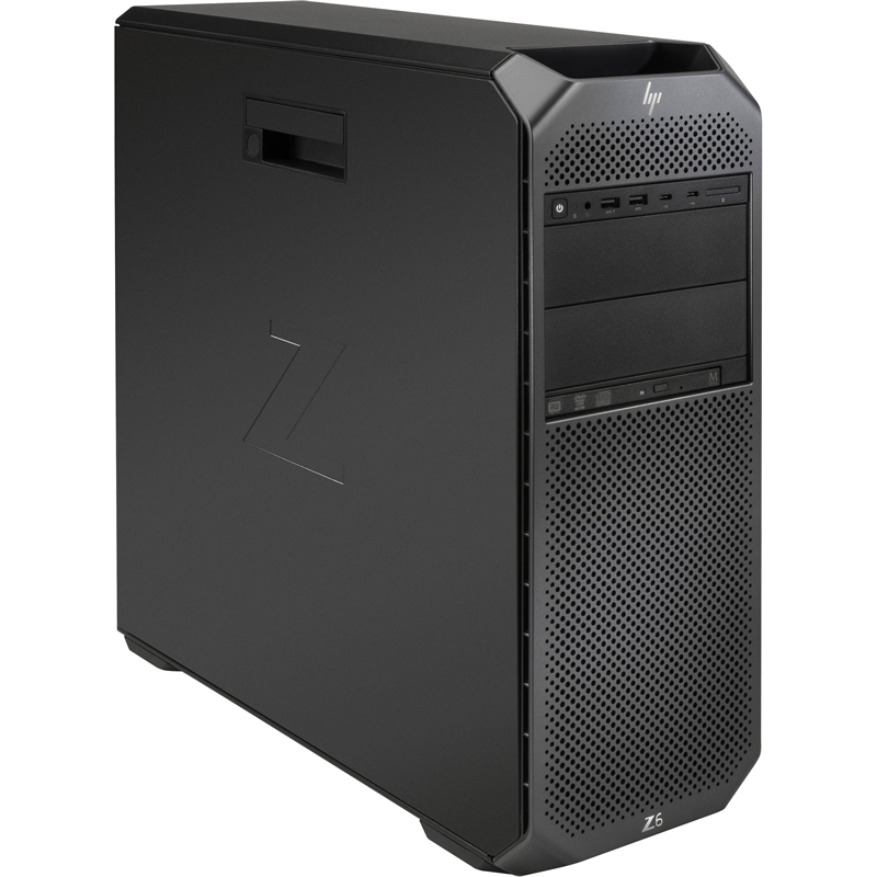 2WU45EA 2WU45EA HP Z6 G4, Xeon 4108, 32GB (2x16GB) DDR4-2666 ECC Reg, 256GB SSD, DVD-ODD, mouse, keyboard, Win10p64Workstationtier2