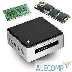 BOXNUC5I3RYH Платформа Intel NUC BOXNUC5I3RYH, Core i3 5010U, 0Gb SO-DIMM DDR3L,  0Gb SATA, HD Graphics 5500, 7.1 ch, GLAN, Wi-Fi, NO OS (936895)