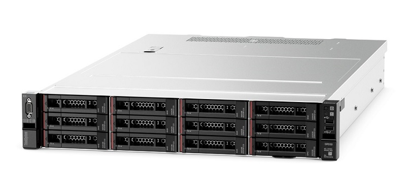 "7X04A005EA Сервер 7X04A005EA Lenovo TCh ThinkSystem SR550 Rack 2U, Xeon 4108 8C (1.8GHz/85W), 16GB/1Rx4 RDIMM, noHDD 2,5"" (up to 8/16), SR 530-8i, noDVD, nofree PCI, 2xGbE,1x750W Platinum p/s (up to 2),1 power cord,XCC Standart"