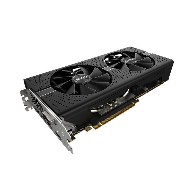 11265-01-20G Видеокарта Sapphire RX 580 8G 256b NITRO+ RX 580 8G OC AMD RX580 8192Mb 256b 1411/8000 DVI (11265