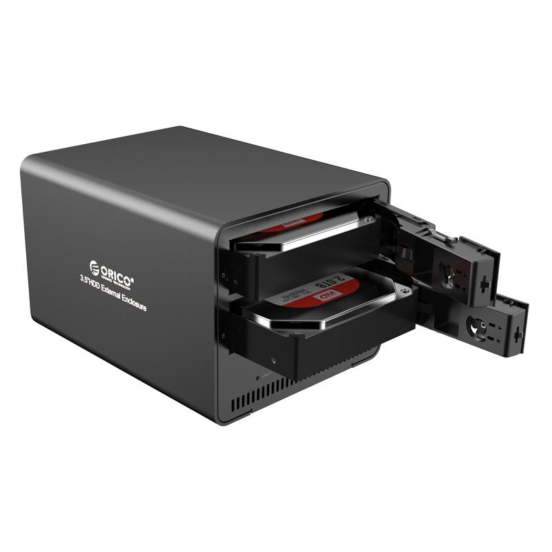 """ORICO 9528U3-BK Мобильный корпус для HDD 2 x 3.5"""" Orico 9528U3, USB3.0, RAID, SATA, Black"""