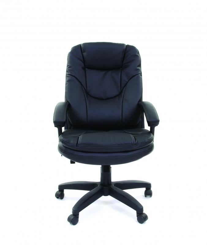 6113129 Офисное кресло Chairman 668 LT экопремиум черный
