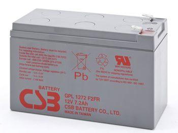 CSB GPL1272 Аккумулятор CSB GPL1272 (12V, 7Ah F2) с увеличенным сроком службы