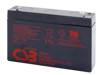 CSB GP672 Аккумулятор CSB GP672 (6V, 7Ah)