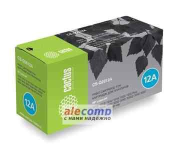 CS-Q2612A Картридж Cactus CS-Q2612A для HP Laser Jet 1010/1012/1015/1020/3015/M1005