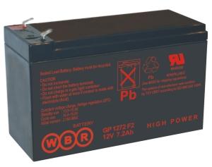 CSB GP1272 Аккумулятор CSB GP1272 (12V, 7Ah F2)