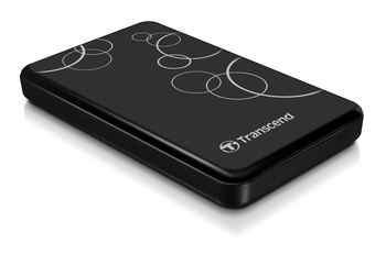 "TS1TSJ25A3K 1Tb Transcend Portable HDD StoreJet 2.5"" (TS1TSJ25A3K) USB3.0"