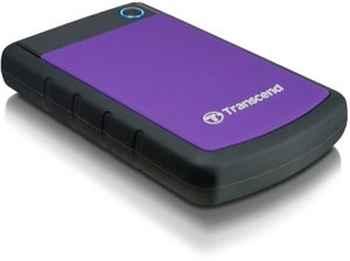 "TS1TSJ25H3P 1Tb Transcend Portable HDD StoreJet 2.5"" (TS1TSJ25H3P) USB3.0  Durable anti-shoc"
