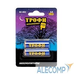 C0032099 ТРОФИ HR6-2BL 2100 mAh  (2шт в уп-ке)