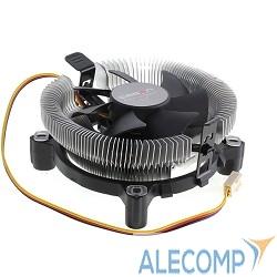 CM000001644 CROWN Кулер для процессора CM-80 (Для Intel и AMD, TDP до 65 Ватт,Низкая посадка радиатора , Гидродинамическии подшипник, Размер: 115*103*42 мм)