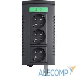 LS595-RS APC Line-R 600VA Automatic Voltage Regulator, 3 Schuko Outlets, 230V