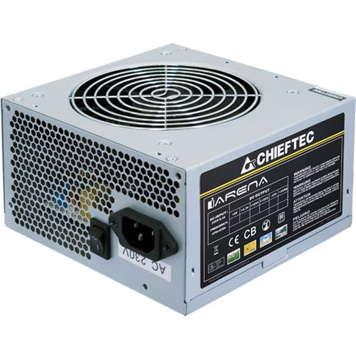 GPA-450S8 Блок питания Chieftec iARENA GPA-450S8 (450Watt / 80+ 230V only / 120mm Fan)