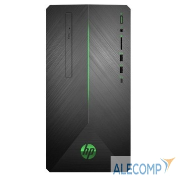 6PD41EA 6PD41EA Компьютер HP Pavilion Gaming 690-0034ur MT, i5-9400, 16GB (2x8GB) 2666  SSD 128GB,1TB, GTX 1060 6GB DDR5,, Black Green USB kbd& Black with Green LED, Win10, 1Y Wty