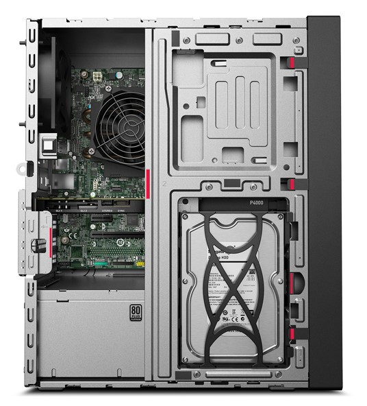 30CY002TRU 30CY002TRU КомпьютерLenovo ThinkStation P330 Gen2 Tower C246 250W, I7-9700(3.0G,8C), 2x8GB 2666 nECC 1x256GB SSD 2.5 SATA3 OPAL, QUADRO P620 2GB 4MDP HP,  , Win10Pro,