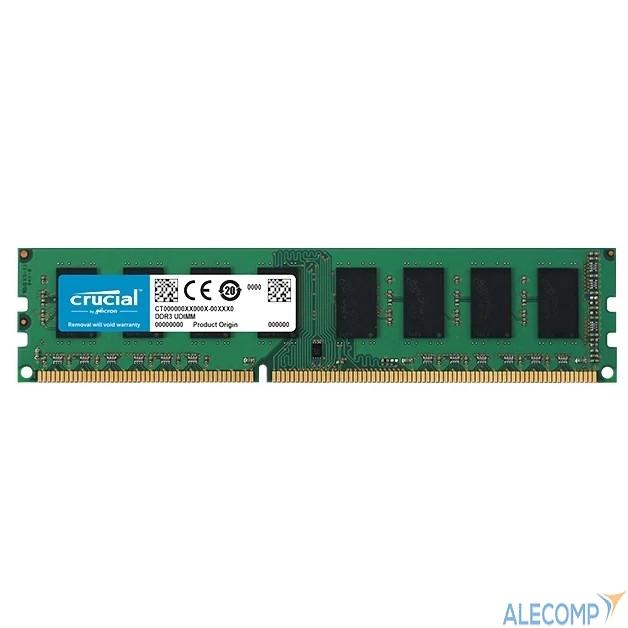 CT204864BD160B Оперативная память Crucial 16GB PC12800 DDR3L CT204864BD160B