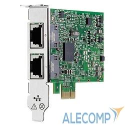 615732-B21 HPE Ethernet Adapter, 332T, Broadcom, 2x1Gb, PCIe(2.0), for DL165/580/980G7 & Gen8/Gen9-servers 615732-B21