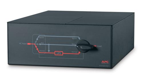 SBP16KP APC Service Bypass Panel- 200/208/240V; 100A; MBB; Hardwire input/output