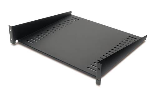 AR8105BLK Fixed Shelf 50lbs/22.7kg Black