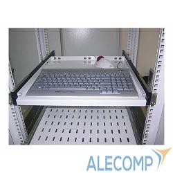 ТСВ-К4 Полка клавиатурная с телескопическими направляющими, регулируемая глубина 580-620 мм, [ ТСВ-К4 ]