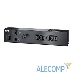 SBP1500RMI APC Service Bypass PDU, 230V 10AMP W/ (6) IEC C13 out; IEC C14 in