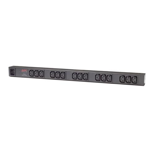 AP9572 APC Rack PDU, Basic, Zero U, 16A, 208/230V, (15) C13 out; C20 in
