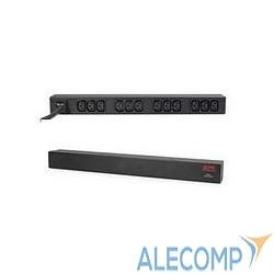 AP9565 APC Rack PDU, Basic, 1U, 16A, 208/230V, (12)C13 out; C20 in