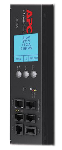AP8881 APC Rack PDU 2G, Metered, ZeroU, 11kW, 230V, (36) C13 & (6) C19