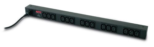 AP9568 APC Rack PDU, Basic, Zero U, 10A, 230V, (15)C13 out; C14 in