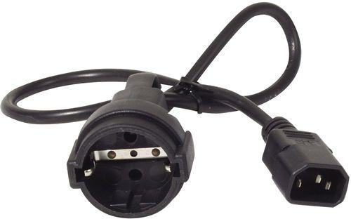 AP9880 APC Power Cord [IEC 320 C14 to CEE 7/7(Schuko) Receptacle] - 10 AMP/230V 0.61 Meters