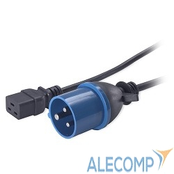 AP9876 APC Power Cord [IEC 320 C19 to IEC 309] - 16 AMP/230V 2.5 Meter