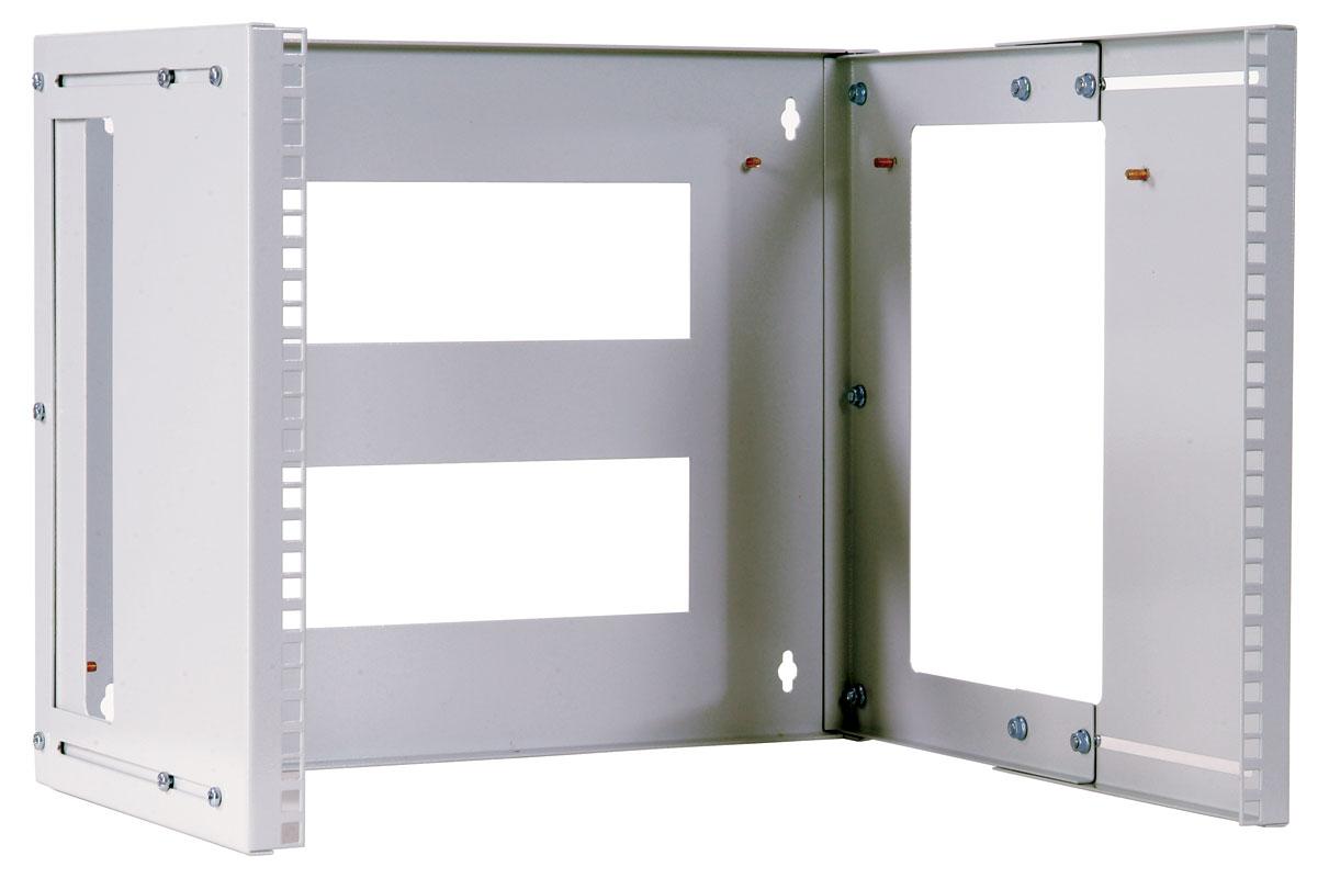 КНО-М-3U Кронштейн телекоммуникационный настенный 3U, регулируемая глубина 300-450, [ КНО-М-3U ]