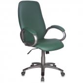 T-700DG/OR-01 Кресло руководителя T-700DG/OR-01 зеленый Or-01 искусственная кожа (пластик темно-серый)