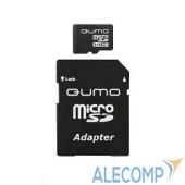 QM8GMICSDHC10 Micro SecureDigital 8Gb QUMO QM8GMICSDHC10 MicroSDHC Class 10, SD adapter
