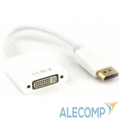 CG602 Переходник DisplayPort (M) - DVI-D (F), VCOM (CG602), 0.15m, черный
