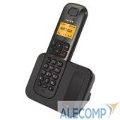 TX-D6605A TEXET TX-D6605A черный (АОН/Caller ID, спикерфон, 10 мелодий, поиск трубки)