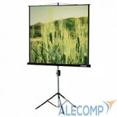 LEV-100102 Lumien Экран на треноге 180x180 см Eco View LEV-100102 1:1 с возможностью настенного крепления