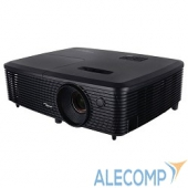 95.71P01GC0E Optoma S321 Проектор DLP, 3D Ready, SVGA (800*600), 3200 ANSI Lm, 22000:1; 8000ч/5000 (Eco/bright);+/- 40 vertical; VGA IN x1; Composite, USB(remote