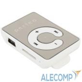 VI-M003White Perfeo цифровой аудио плеер Music Clip Color, белый (VI-M003 White)