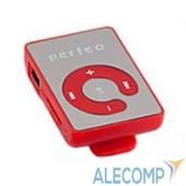 VI-M003Red Perfeo цифровой аудио плеер Music Clip Color, красный (VI-M003 Red)