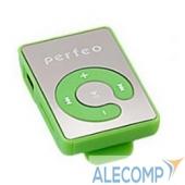 VI-M003Green Perfeo цифровой аудио плеер Music Clip Color, зелёный (VI-M003 Green)