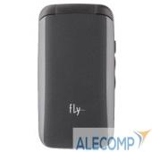 "09564 Fly Ezzy Trendy 3 Dark Grey 2 sim,2.4"", 320x240, 0.3 МП,MP3, FM, BT, 24Мб, microSD, раскладной"