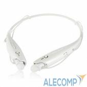 VI-M014White Perfeo гарнитура Bluetooth с цифровым аудио плеером Perfeo Harmony, белый (VI-M014 White)