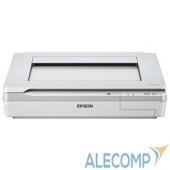 B11B204131 EPSON WorkForce DS-50000 B11B204131 USB2.0, A3, 7.5 стр/мин, CCD, 2400x4800 dpi, 48 bit, сеть опционально код опции