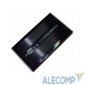 "SUB2S(BLACK) AgeStar Внешний корпус 2,5"" AgeStar SUB2S (BLACK) USB2.0, 2.5"", SATA, алюминий, черный 04294"