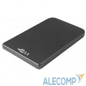 "SUB2O1 AgeStar Внешний корпус 2,5"" SATA AgeStar SUB2O1 (BLACK) USB2.0, алюминий, черный (04512)"