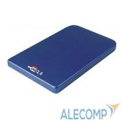 """SUB2O1BLUE AgeStar Внешний корпус 2,5"""" SATA AgeStar SUB2O1 (blue) USB2.0, алюминий, синий (04511)"""