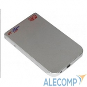 "SUB2O1S AgeStar Внешний корпус 2,5"" SATA AgeStar SUB2O1 (SILVER) USB2.0, алюминий, серебристый (04510)"