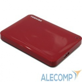 "HDTC810ER3AA Toshiba Portable HDD 1Tb Stor.e Canvio Conect II HDTC810ER3AA USB3.0, 2.5"", красный"